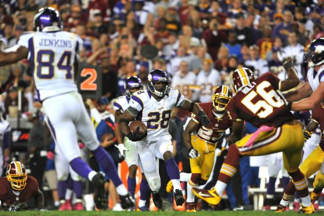 Adrian Peterson Plans to Play Until He's Ready to Stop