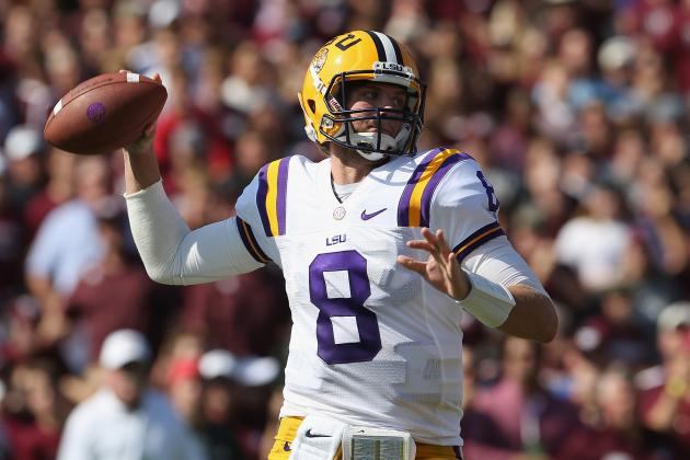 LSU's Miles Wants More from Passing Game