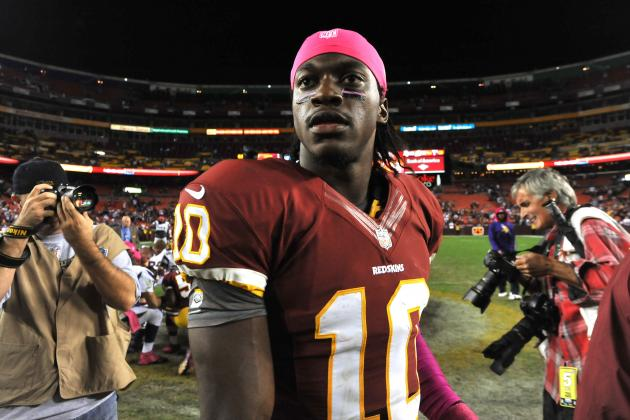 Bryce Harper and Robert Griffin III Bro out on Twitter over RG3 Socks