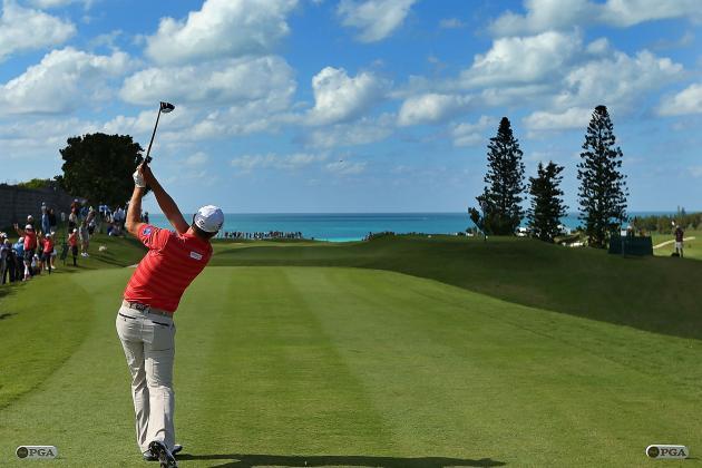 Harrington Takes Two-Shot Lead in Bermuda