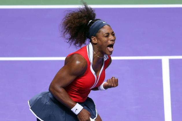Serena Williams Opens WTA Championships with Win