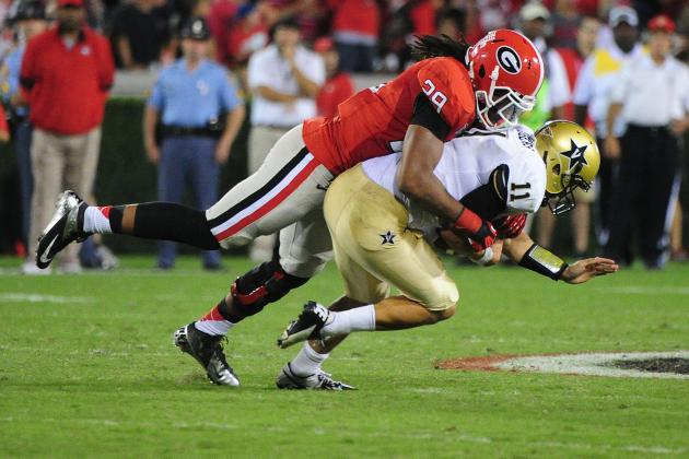 LB Jarvis Jones Ready to 'give Everything I've Got' Against Gators