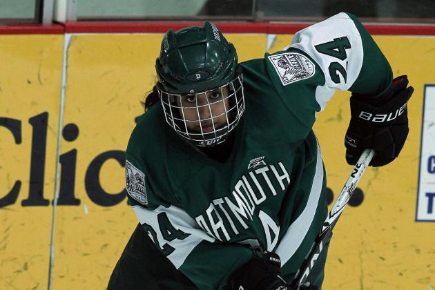 Sasha Nanji's Four Point Effort Leads Dartmouth Past McGill