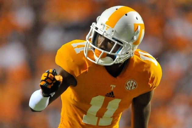 Tennessee's Justin Hunter Ready to Move Beyond Drops, Regain 'swagger'