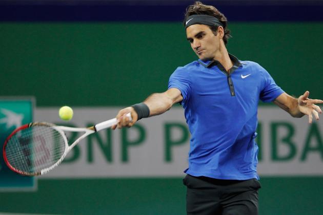 Federer, Del Potro Win in Basel; Raonic, Isner Ousted in Valencia