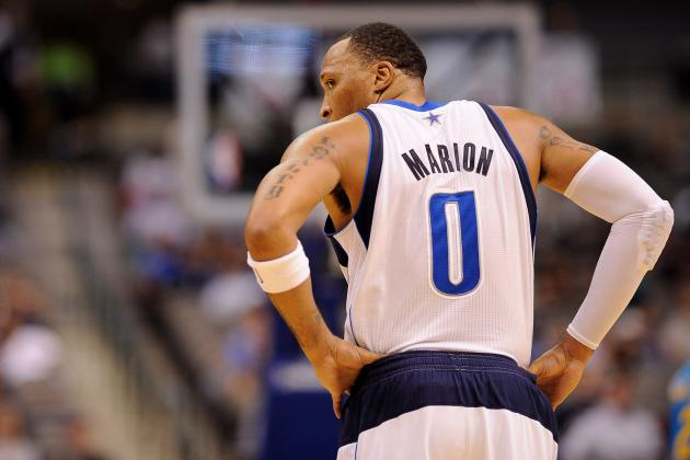Shawn Marion, Vince Carter Stay Home to Rest