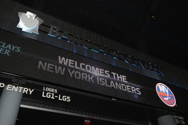 Islanders Sign 25-Year Deal with Brooklyn's Barclays Center