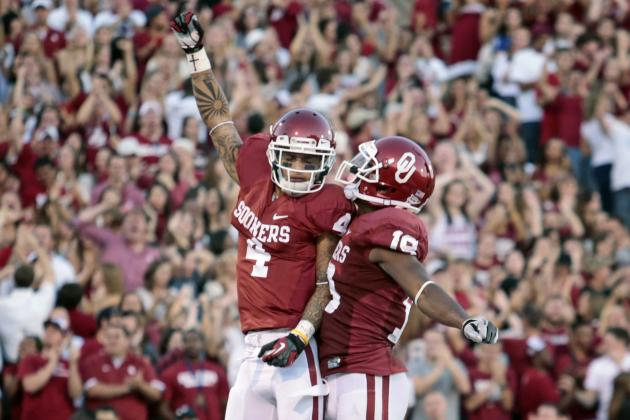 Time with New WRs Pays off for OU'S Jones