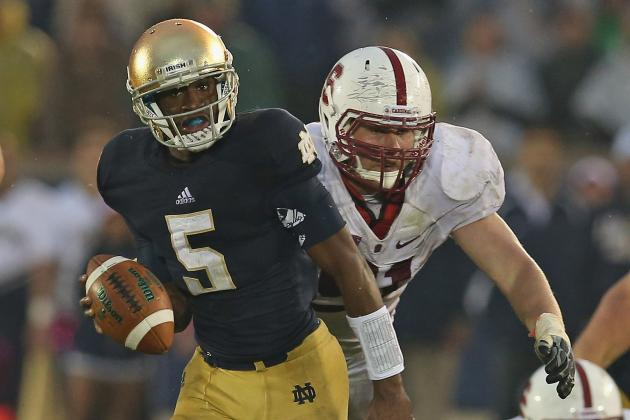 Notre Dame QB Golson to start vs. Oklahoma