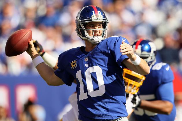 Breaking Down Eli Manning's Form at NFL Midseason Mark