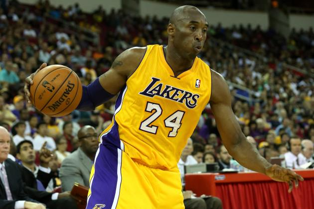 Kobe Bryant's Foot Injury Proves Lakers Must Not Overwork Black Mamba