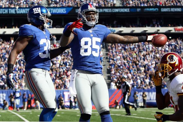 New York Giants: Stats That Matter Headed into Week 8