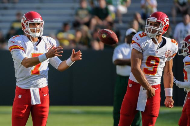 Chiefs QBs Quinn, Cassel Prepare for New Roles