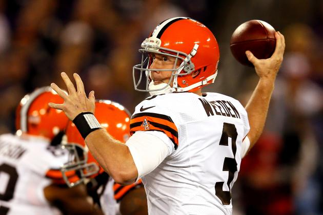 Breaking Down Brandon Weeden's Form at the NFL's Midseason Mark