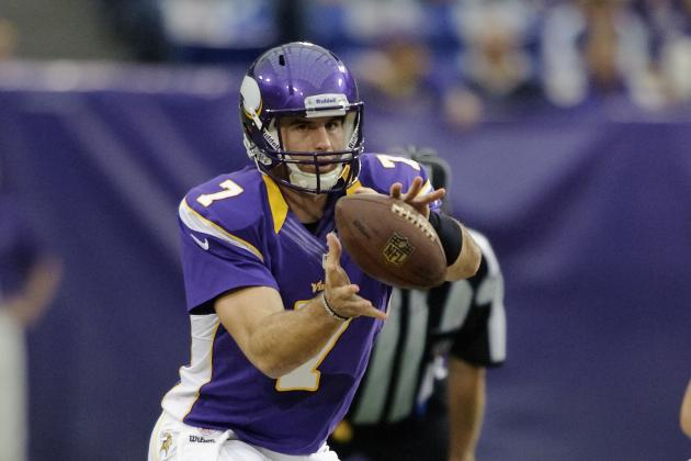 Buccaneers vs Vikings: Ponder Must Avoid INTs, D Must Slow Bucs' Jackson in Wk 8