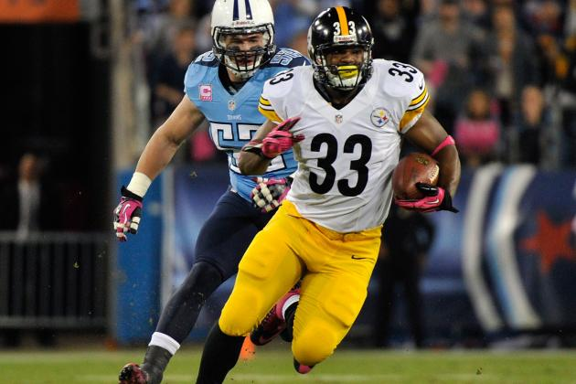Isaac Redman: Banged-Up Steelers RB Is Not Viable Fantasy Option