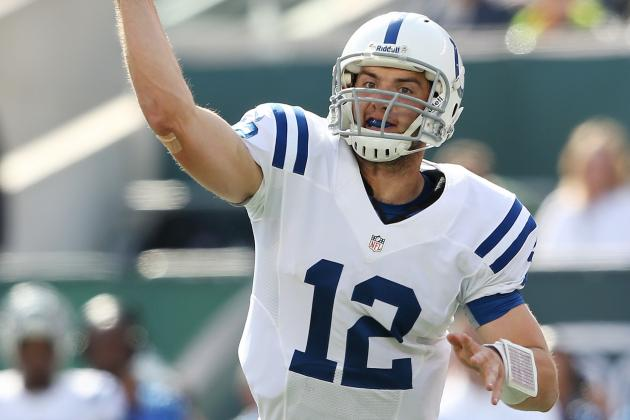 Andrew Luck Lands on Colts Injury Report