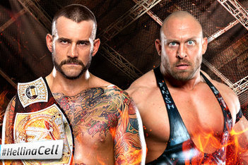 WWE Hell in a Cell: Why a Great Match with Ryback Would Make CM Punk a Legend