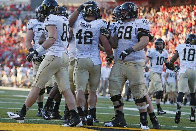 Clemson vs. Wake Forest: Do Demon Deacons Have Any Shot at Thursday Night Upset?