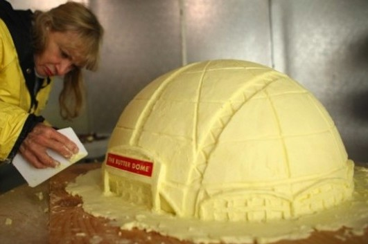 Seattle's New Arena... Made out of Butter
