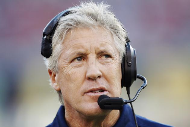 Pete Carroll on Seahawks Receivers: 'I Think We're Fine. I Think We're Alright'