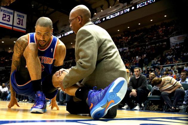 Tyson Chandler Injury: Updates on Knicks Center's Knee