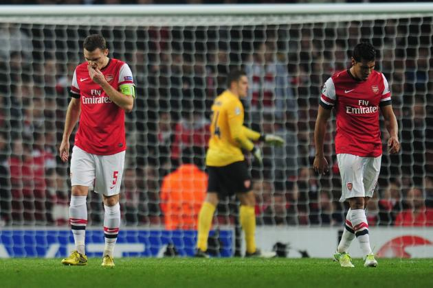 Arsenal Football Club and the Real Problems Arsene Wenger's Men Face