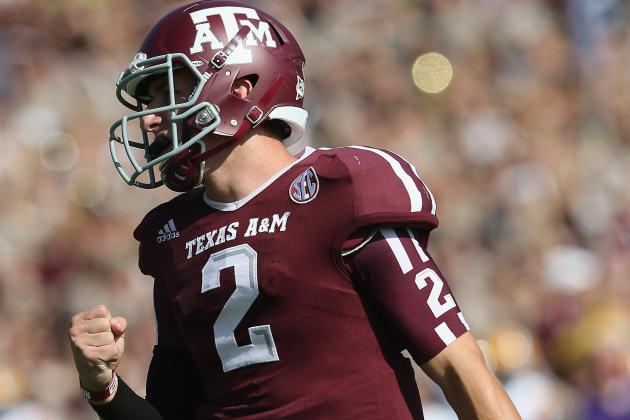 Texas A&M vs. Auburn: Scouting Johnny Football and the Texas A&M Aggie Offense