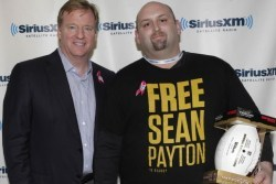 Saints Fan Finagles Priceless Photo with Goodell