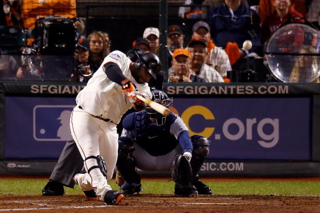 Pablo Sandoval: Giants Slugger Hits 3 HRs in Game 1 of World Series