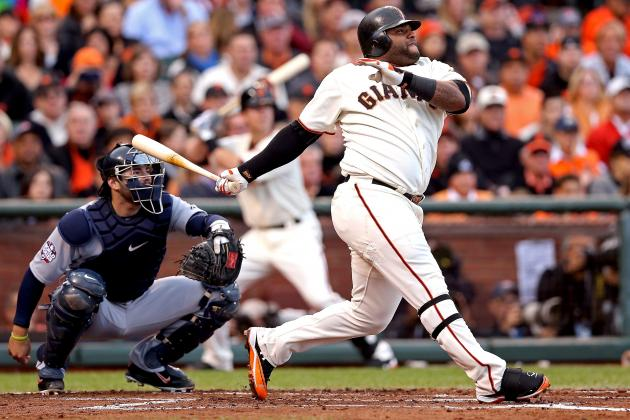 World Series 2012: Pablo Sandoval Leads Giants to 8-3 Win Over Tigers in Game 1