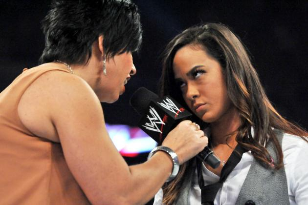 Replacing AJ Lee with Vickie Guerrero Emphasizes WWE's Inconsistencies