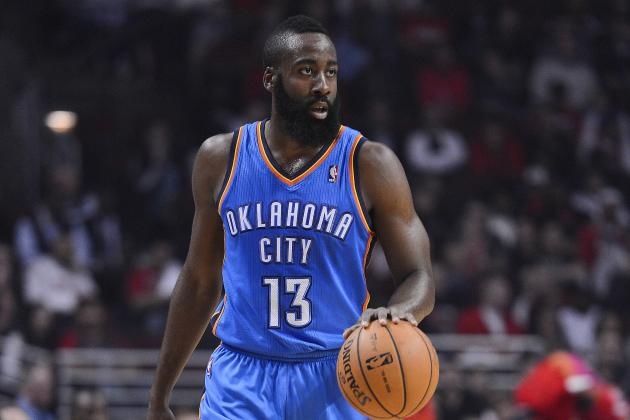 James Harden Struggles to 16 Points, Thunder Beats Mavs