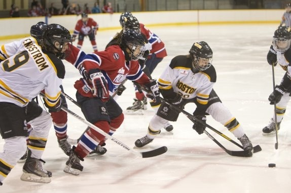 Stars and Blades Go to Shootout in CWHL Season Opener