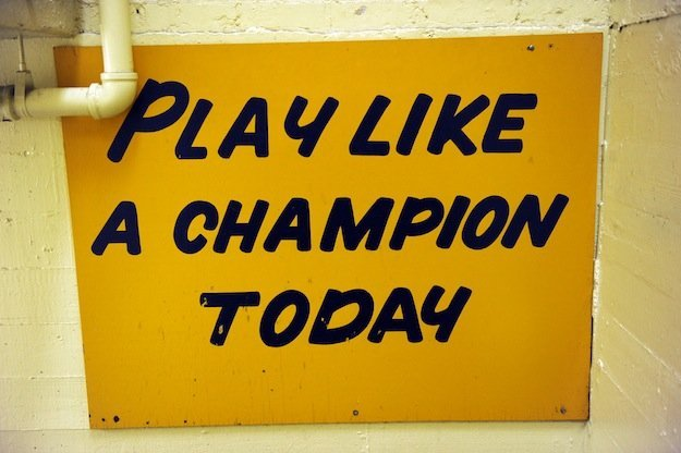 Oklahoma Might Have Been the First to Use 'Play Like a Champion Today'