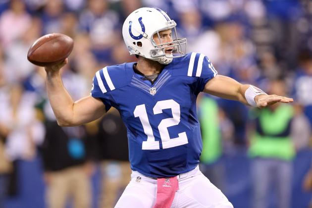 Andrew Luck: Colts' QB a Must-Start in Week 8 Matchup vs. Titans