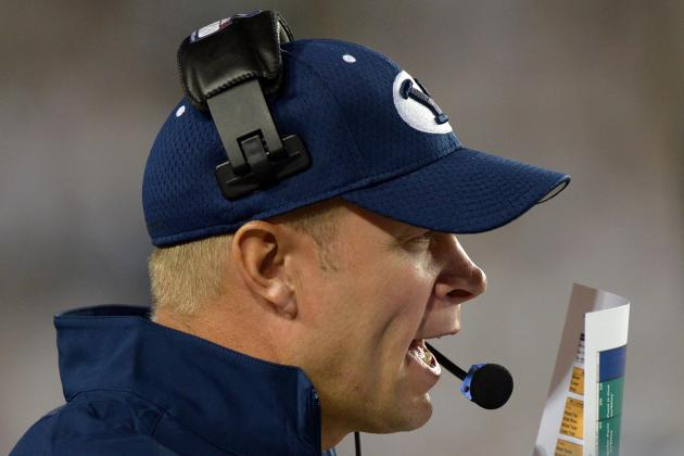 BYU Football: Mendenhall Preaches Patience, but Grumbling on Rise in Provo