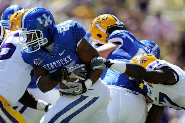 Kentucky RBs Pushing Each Other to Get Better