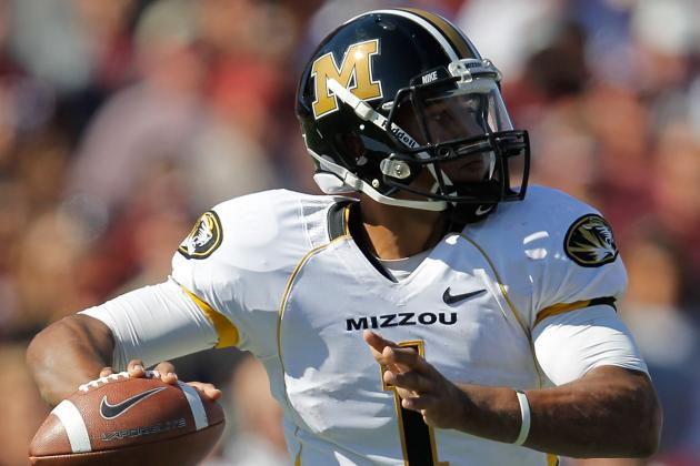 Mizzou QB Franklin Likely to Miss Game vs. UK