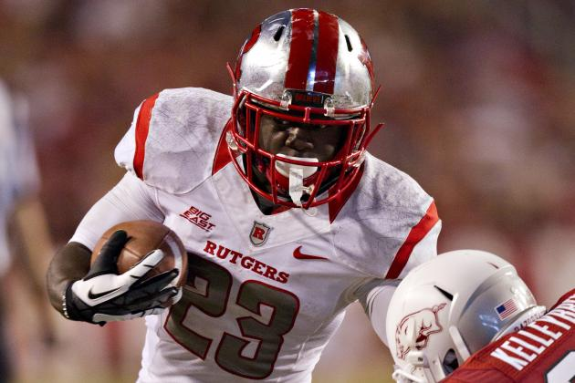 Rutgers RB Jamison Runs Through the Pain