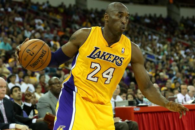 How Many Games Played Would Be a Good Season for Kobe Bryant?