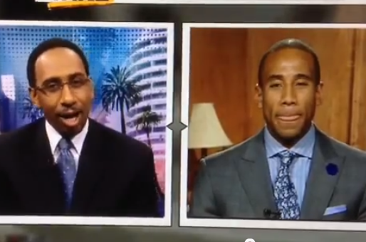 ESPN's Stephen A. Smith Allegedly Drops Racial Epithet on 'First Take'