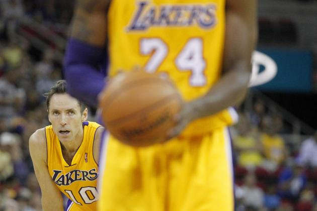 Should Lakers Follow Spurs' Lead and Give Kobe, Nash Time off Before Playoffs?