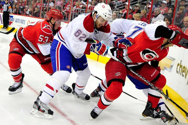 Montreal's Leblanc Injures Ankle, out 4-6 Weeks