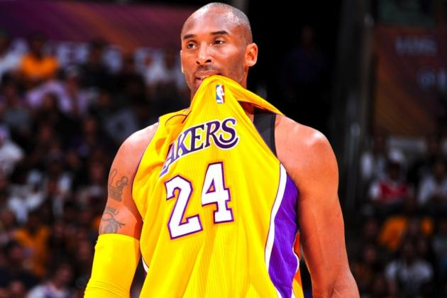 Should LA Lakers Fans Worry About Kobe Bryant's Body Breaking Down?