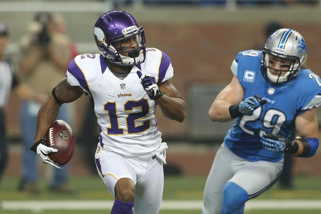 Buccaneers vs. Vikings: Tampa Bay Defense Has No Answer for Percy Harvin