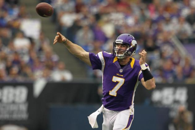 Buccaneers vs Vikings: Christian Ponder Set to Explode Against vs Tampa Bay D