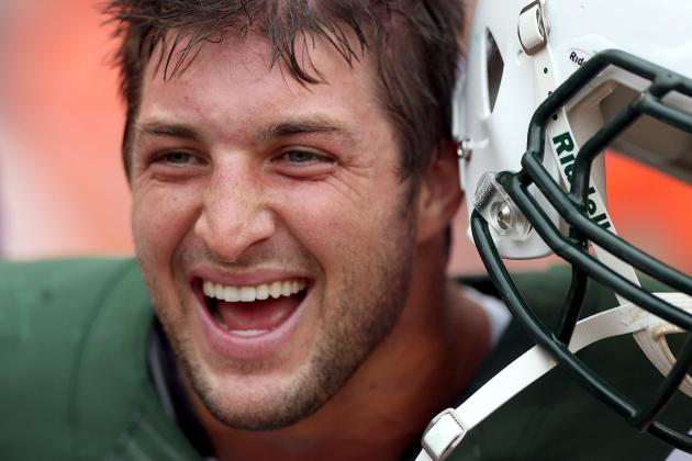 Jets' Dynamic Duo of Mark Sanchez and Tim Tebow Voted Most Overrated in SI Poll