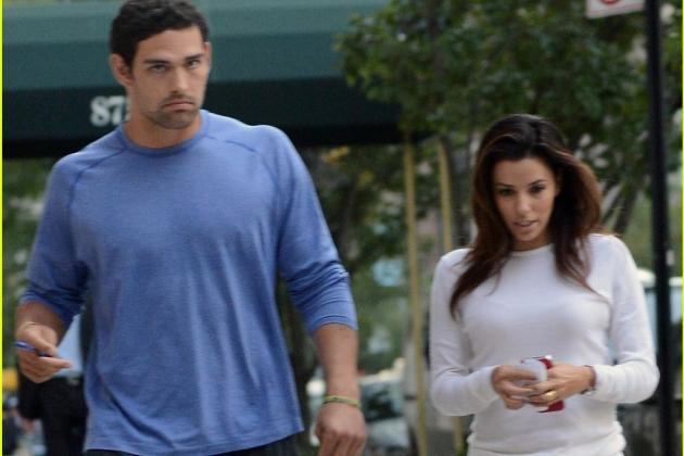 NY Jets' Awful Season Reported Reason for Mark Sanchez and Eva Longoria Split