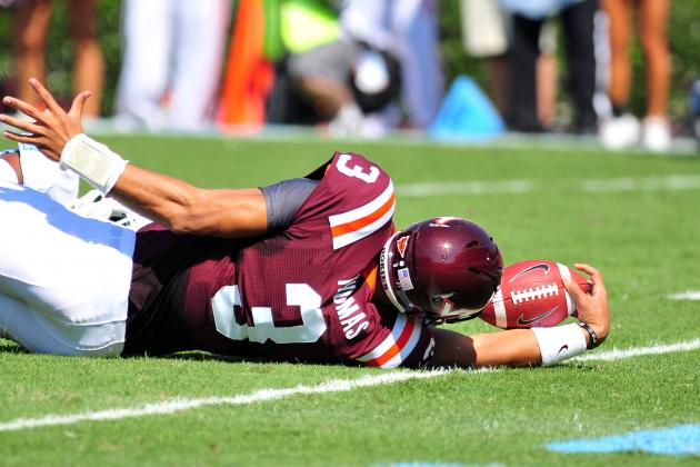Assessing the Draft Value of Virginia Tech Quarterback Logan Thomas